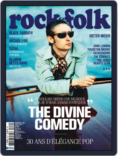 Rock And Folk November 1st, 2020 Digital Back Issue Cover