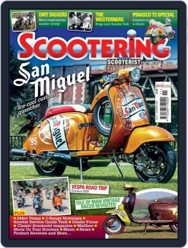 Scootering (Digital) November 1st, 2020 Issue Cover