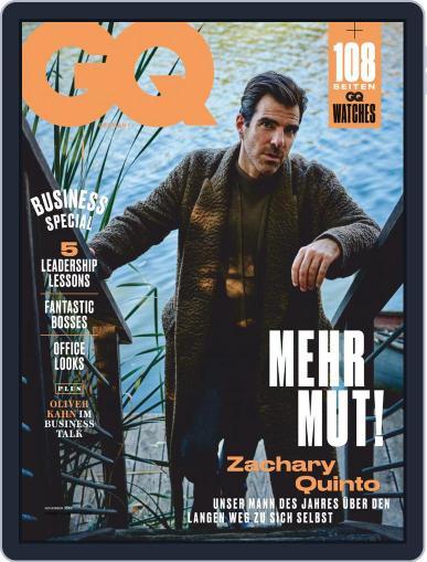 GQ (D) (Digital) November 1st, 2020 Issue Cover