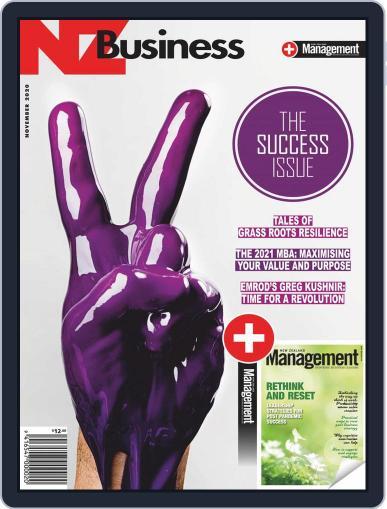 NZBusiness+Management (Digital) November 1st, 2020 Issue Cover
