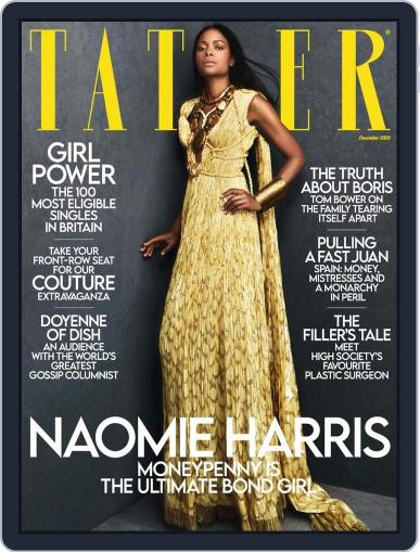 Tatler UK (Digital) December 1st, 2020 Issue Cover