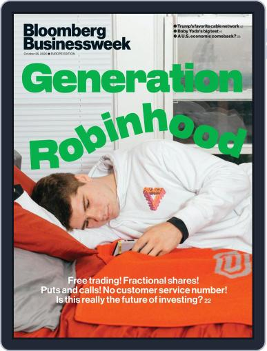 Bloomberg Businessweek-Europe Edition October 26th, 2020 Digital Back Issue Cover