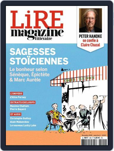 Lire (Digital) November 1st, 2020 Issue Cover