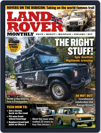 Land Rover Monthly January 1st, 2021 Digital Back Issue Cover