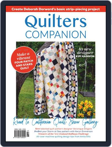 Quilters Companion November 4th, 2020 Digital Back Issue Cover