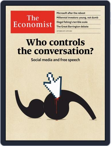 The Economist Middle East and Africa edition (Digital) October 24th, 2020 Issue Cover