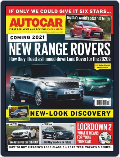 Autocar (Digital) November 11th, 2020 Issue Cover