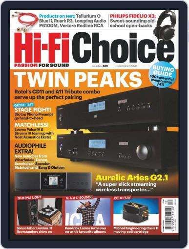 Hi-Fi Choice (Digital) December 1st, 2020 Issue Cover