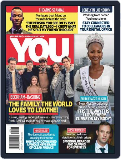You South Africa (Digital) November 5th, 2020 Issue Cover