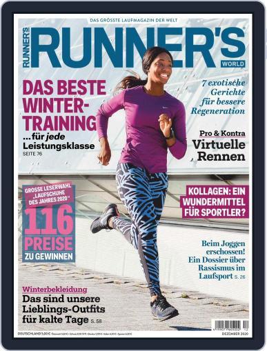 Runner's World Deutschland December 1st, 2020 Digital Back Issue Cover