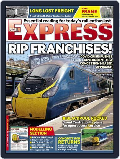 Rail Express (Digital) November 1st, 2020 Issue Cover