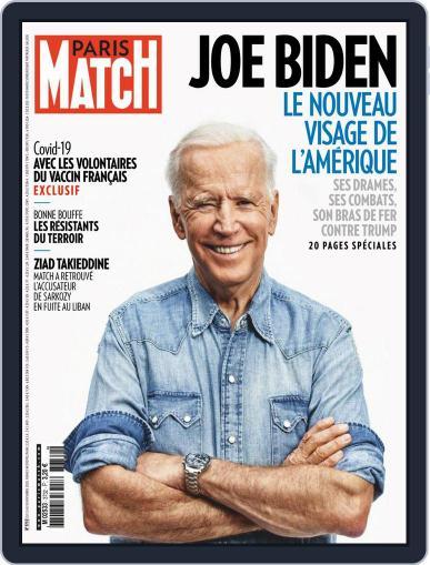 Paris Match (Digital) November 12th, 2020 Issue Cover