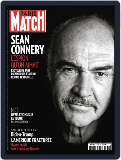 Paris Match (Digital) November 11th, 2020 Issue Cover