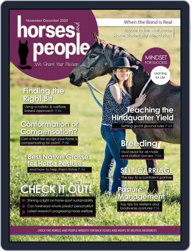 Horses and People November 1st, 2020 Digital Back Issue Cover