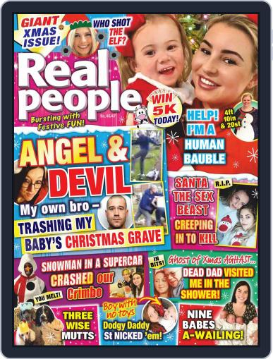 Real People November 19th, 2020 Digital Back Issue Cover