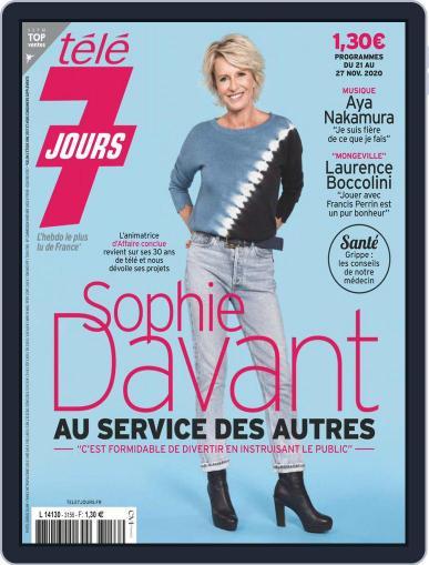 Télé 7 Jours (Digital) November 21st, 2020 Issue Cover
