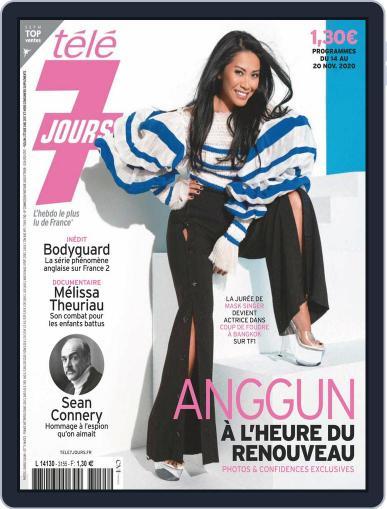 Télé 7 Jours November 14th, 2020 Digital Back Issue Cover