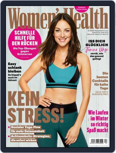 Women's Health Deutschland December 1st, 2020 Digital Back Issue Cover