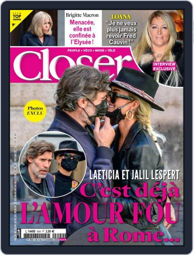 Closer France (Digital) November 6th, 2020 Issue Cover