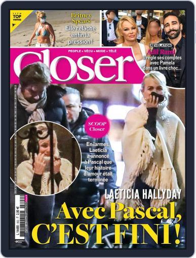 Closer France October 23rd, 2020 Digital Back Issue Cover