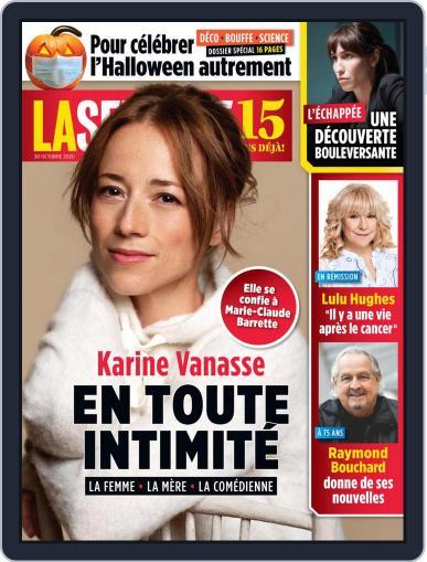 La Semaine (Digital) October 30th, 2020 Issue Cover