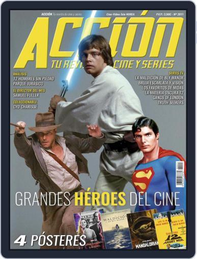 Accion Cine-video (Digital) November 1st, 2020 Issue Cover