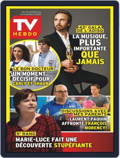 Tv Hebdo (Digital) October 31st, 2020 Issue Cover