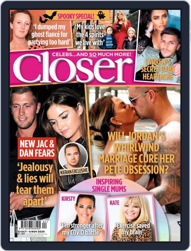 Closer (Digital) October 31st, 2020 Issue Cover