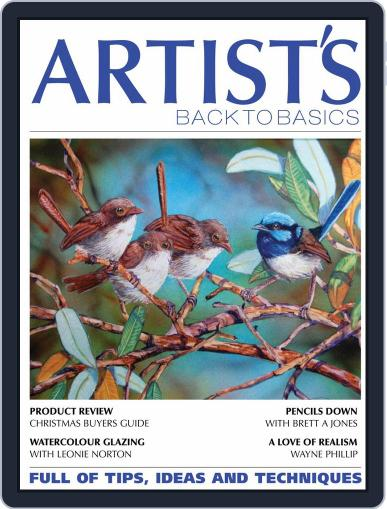 Artists Back to Basics October 1st, 2020 Digital Back Issue Cover