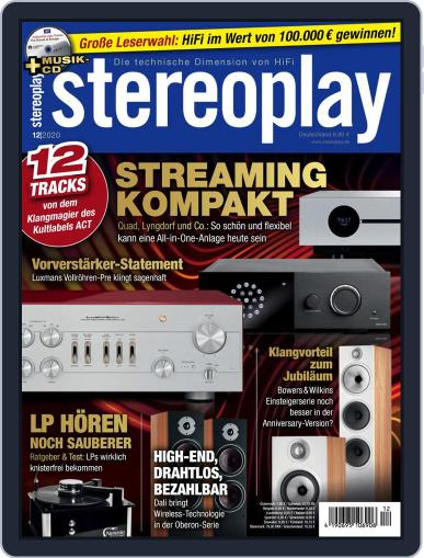 stereoplay December 1st, 2020 Digital Back Issue Cover