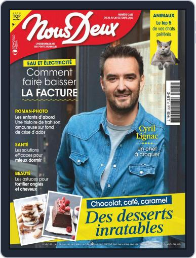 Nous Deux October 20th, 2020 Digital Back Issue Cover