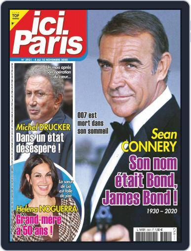 Ici Paris November 4th, 2020 Digital Back Issue Cover