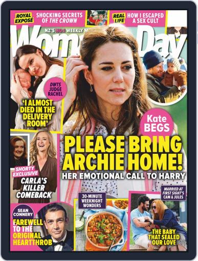 Woman's Day Magazine NZ November 16th, 2020 Digital Back Issue Cover