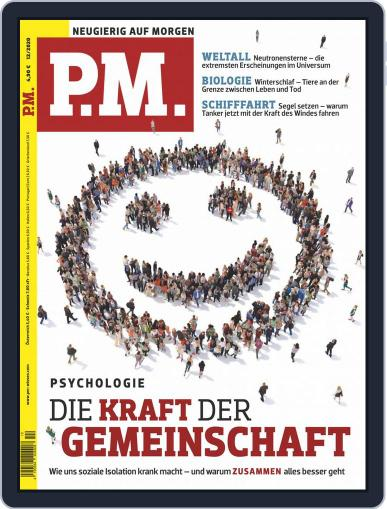 P.M. Magazin December 1st, 2020 Digital Back Issue Cover