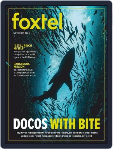 Foxtel (Digital) November 1st, 2020 Issue Cover