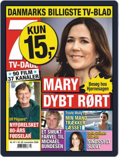 7 TV-Dage (Digital) November 16th, 2020 Issue Cover
