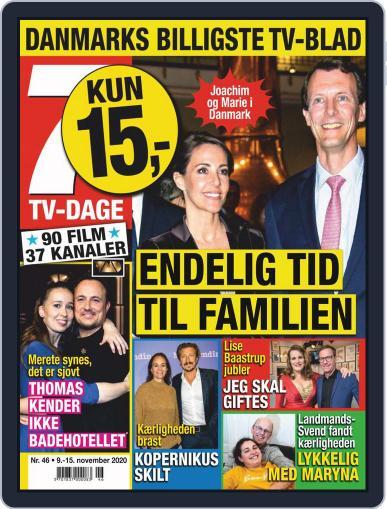 7 TV-Dage (Digital) November 9th, 2020 Issue Cover