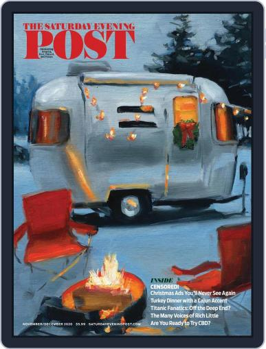 The Saturday Evening Post November 1st, 2020 Digital Back Issue Cover