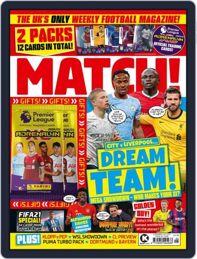 MATCH! (Digital) November 3rd, 2020 Issue Cover