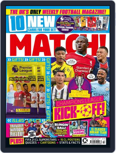 MATCH! (Digital) October 20th, 2020 Issue Cover