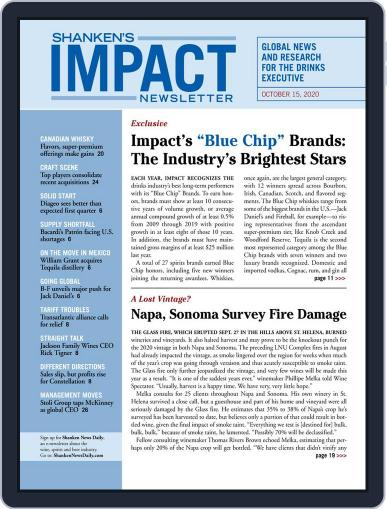 Shanken's Impact Newsletter (Digital) October 15th, 2020 Issue Cover