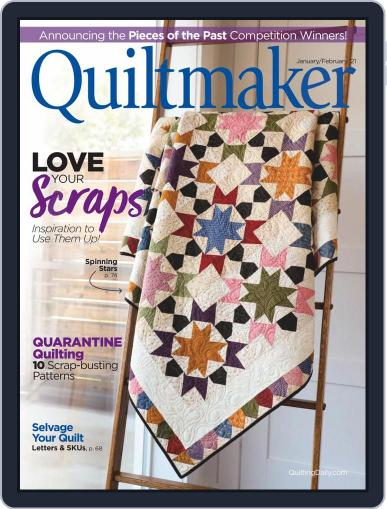 QUILTMAKER (Digital) January 1st, 2021 Issue Cover