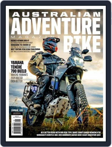 Ultimate Adventure Bike September 1st, 2020 Digital Back Issue Cover