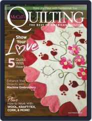 McCall's Quilting (Digital) Subscription January 1st, 2021 Issue