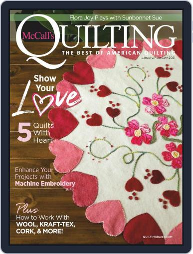 McCall's Quilting (Digital) January 1st, 2021 Issue Cover