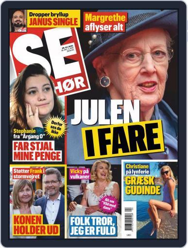 SE og HØR October 28th, 2020 Digital Back Issue Cover