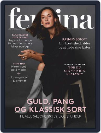 femina Denmark November 5th, 2020 Digital Back Issue Cover