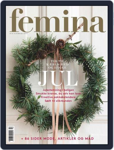femina Denmark (Digital) October 29th, 2020 Issue Cover