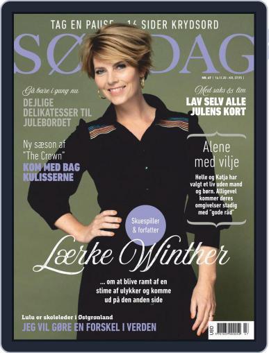 SØNDAG November 16th, 2020 Digital Back Issue Cover