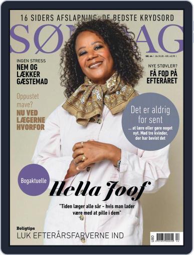 SØNDAG (Digital) October 26th, 2020 Issue Cover